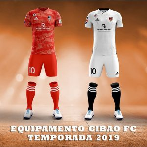 Uniforme de Cibao Fútbol Club 2019