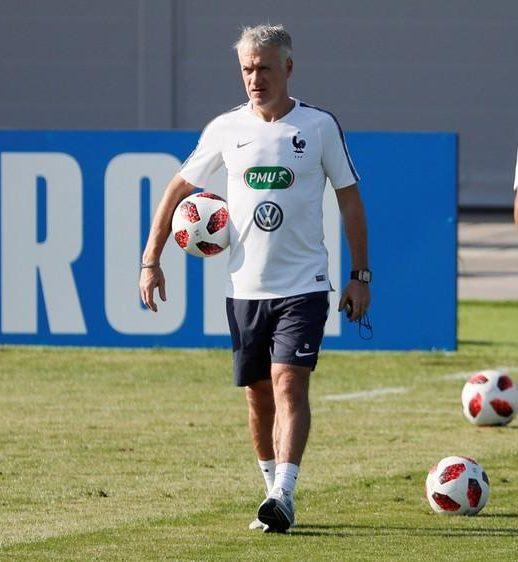 Didier Deschamps director técnico de la selección de Francia