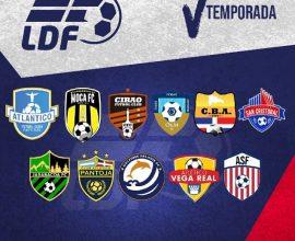Equipos 5ta Liga Dominicana de Fútbol