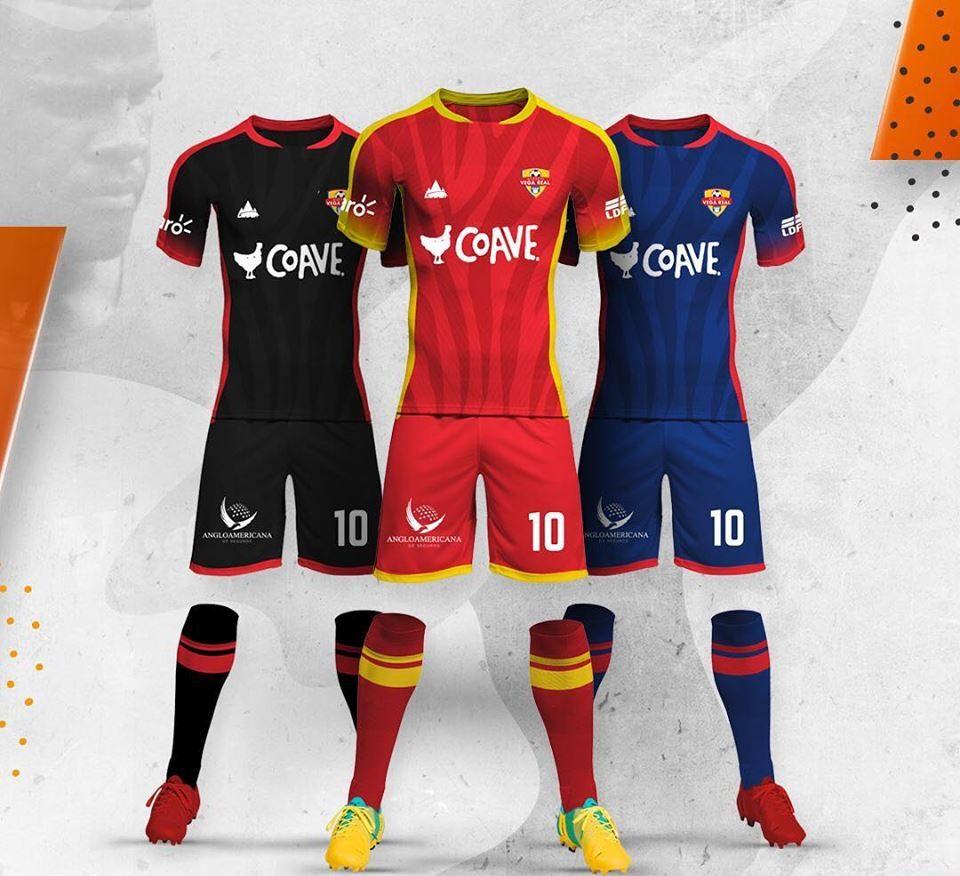 Vestimenta de la plantilla de Atlético Vega Real para la LDF 2019