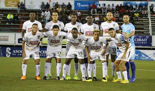 Onceno inicial de Moca FC en el partido inagural de la Liga Dominicana de Fútbol
