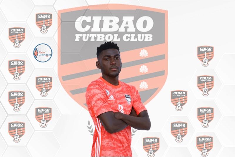 Fran Angong con Cibao FC