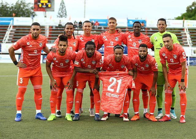 Onceno titular de Cibao FC frente a Atlético Vega Real