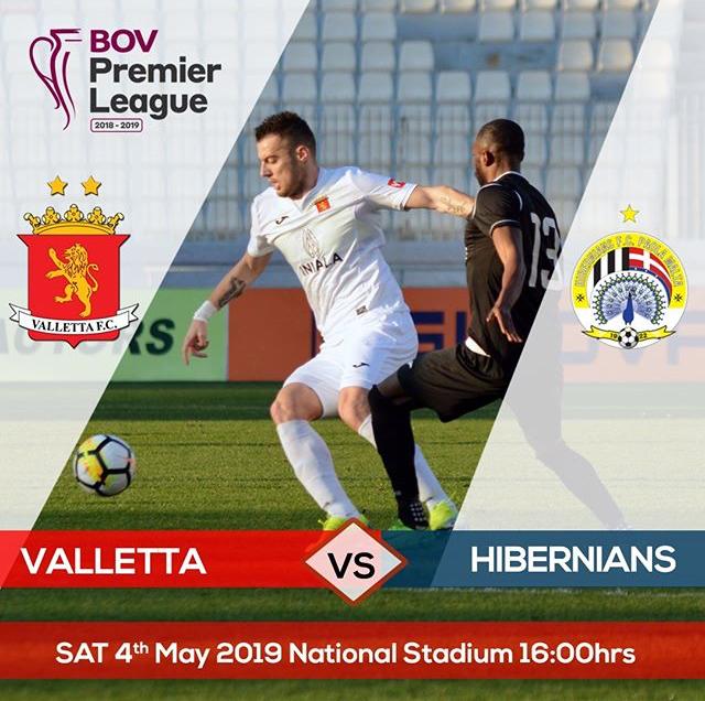 Póster de promoción del partido, cortesía de Valleta FC