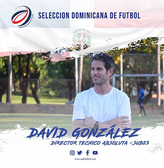 Póster de presentación de David Gónzalez, imagen cortesía Fedofútbol