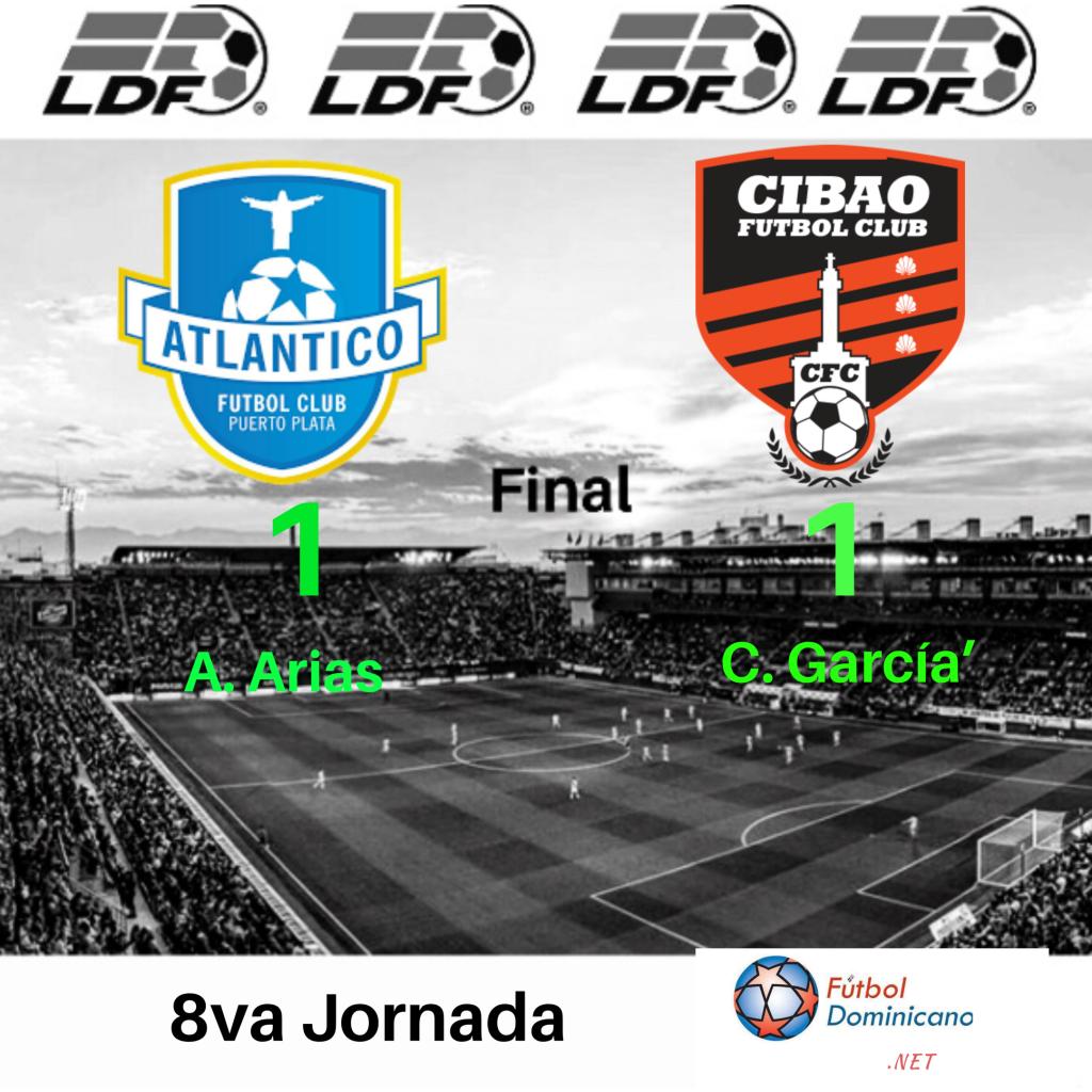 Atlántico FC 1-1 Cibao FC