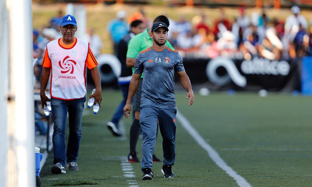 Edward Acevedo Director Técnico de Cibao FC