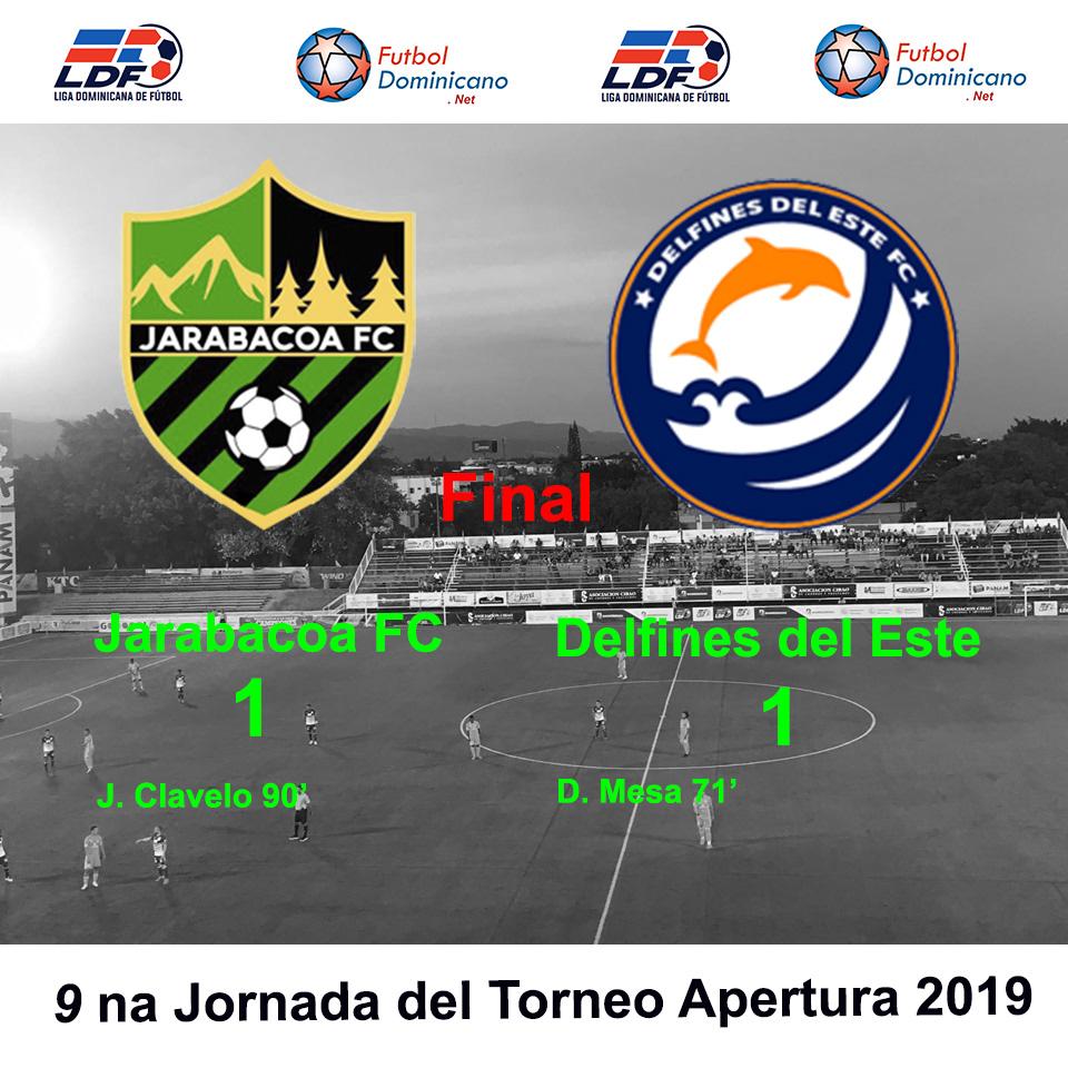 Jarabacoa FC 1-1 Delfines del Este