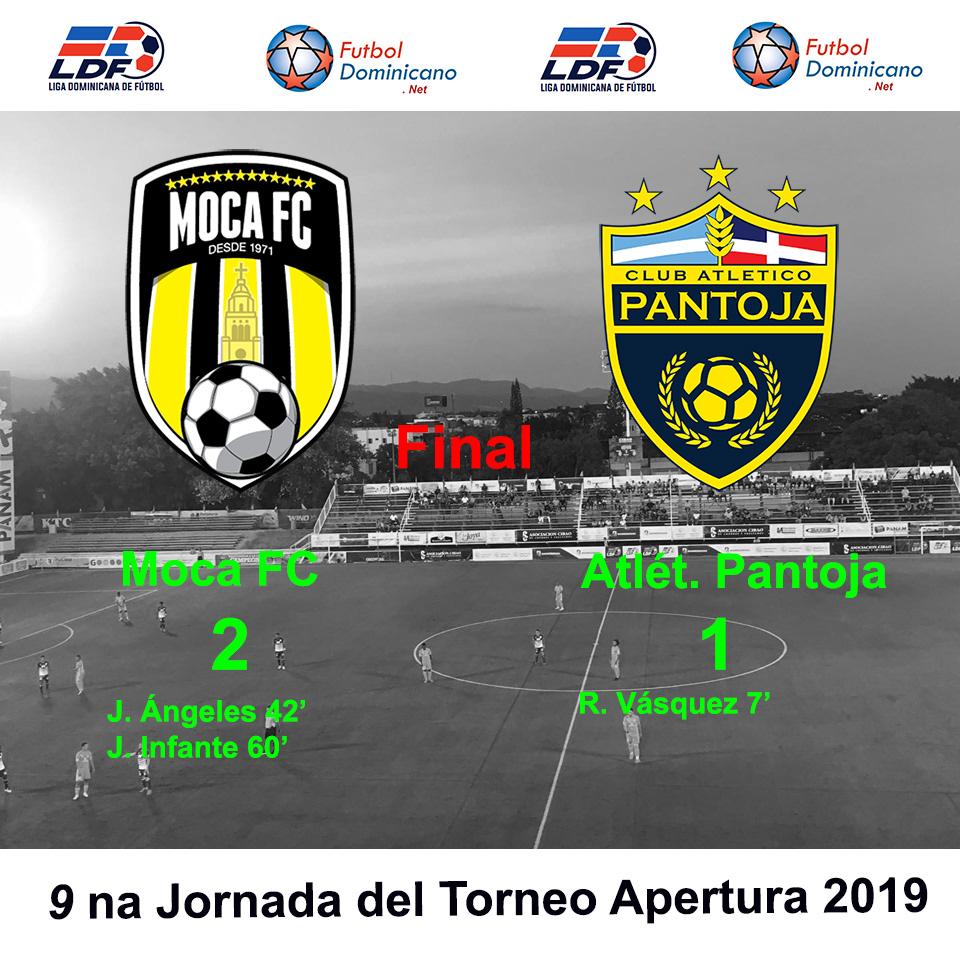 Moca FC 2-1 Atlético Pantoja