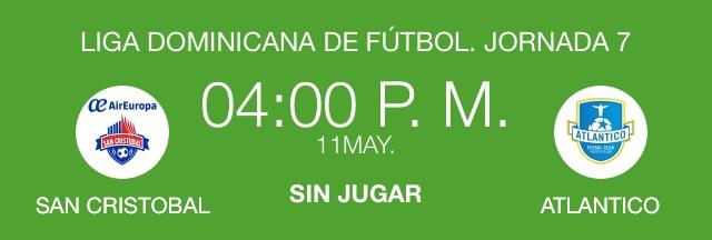 Atlético San Cristóbal vs. Atlántico FC