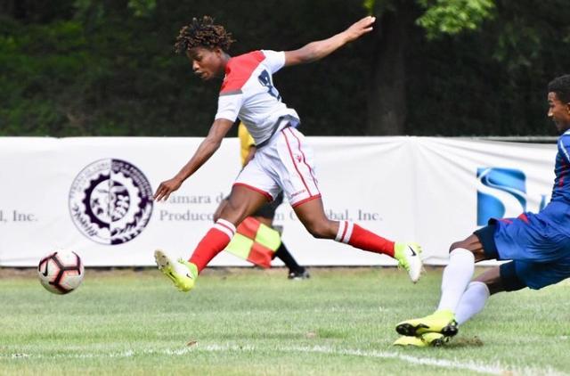 Dorny Romero, el goleador de la sub-23dominicana