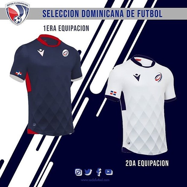 Camiseta de la Selección de Fútbol Dominicana