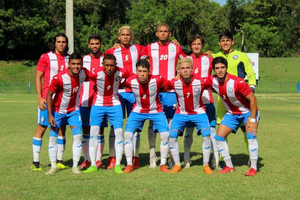 Onceno titular de la Selección sub-23 de Puerto Rico