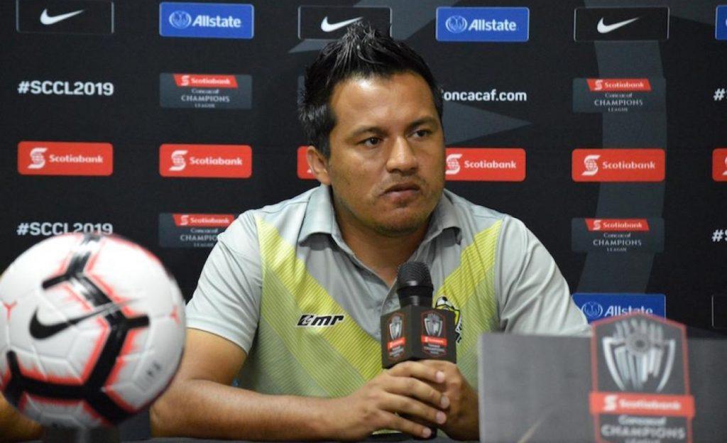 Marvin Amarini, entrenador de la Selección de Guatemala