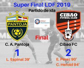 Pantoja 1-2 Cibao Súperfinal LDF 2019
