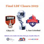 Final LDF Claura 2019 Cibao y San Cristóba