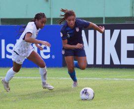 Mia Fishel vs Dominican Republic