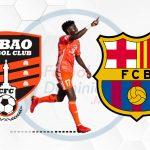 Frank Angong de Cibao al FC Barcelona