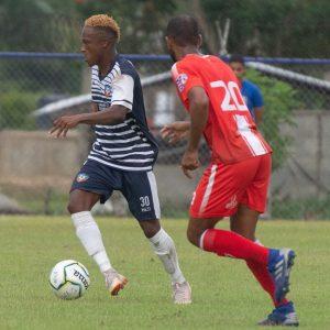 Wilman Modesta en acción con O&M FC
