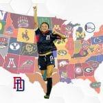 Futbolistas dominicanas en la NCAA