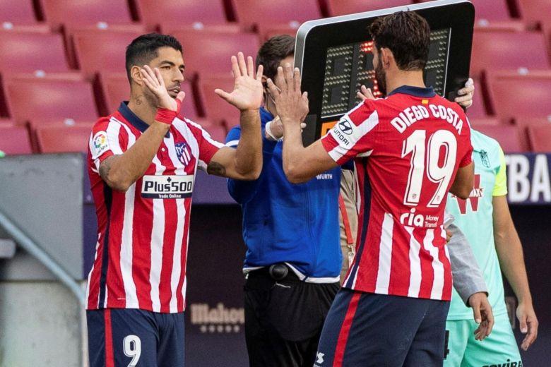 Luis Suáez y Diego Costa