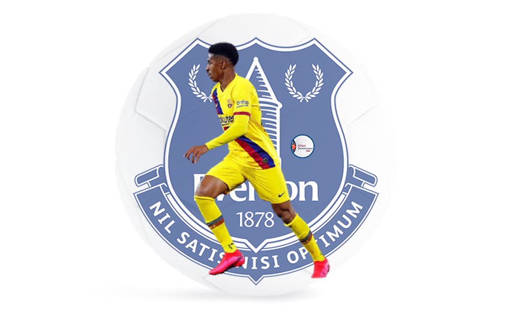 Junior Firpo al Everton