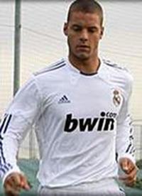 Tano Bonnin en su etaapa de canterano del Madrid