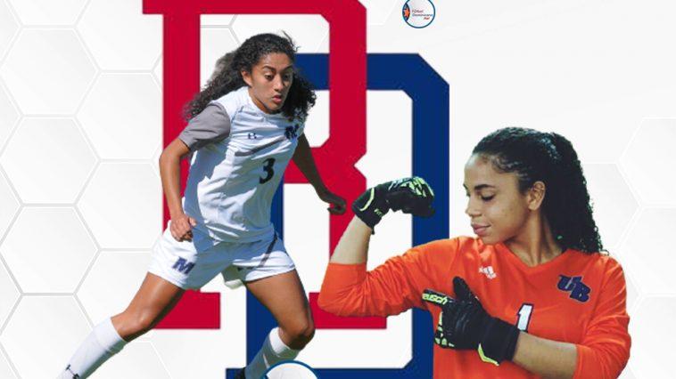 Jazlyn Moya y Claudia Torres